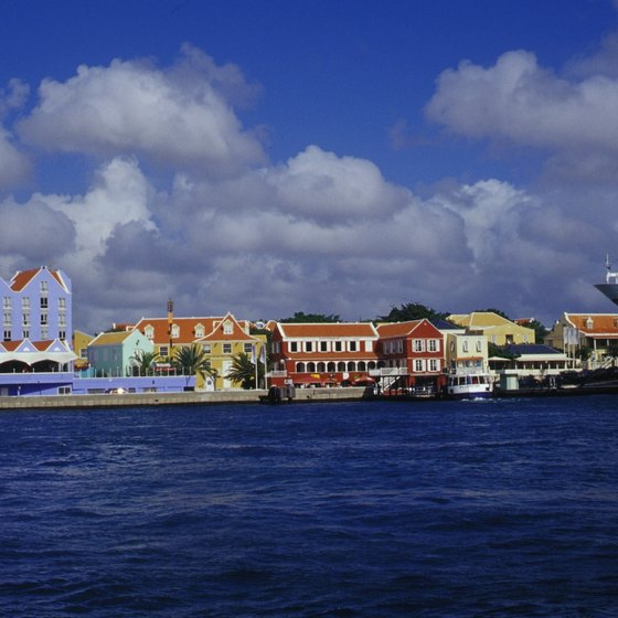 Use airline miles to book a cruise to the Netherlands Antilles, or elsewhere.