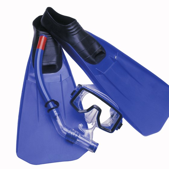 You can rent snorkel gear in many resorts.