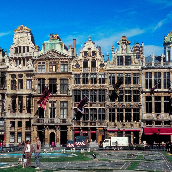 The Grand Place of Brussels in Belgium.