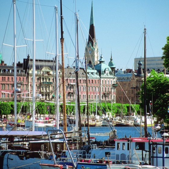 Some of Stockholm's most important buildings are perched on the waterfront.