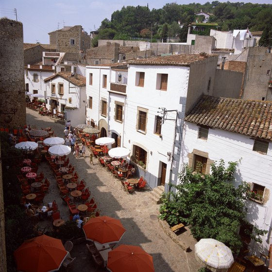 Visit towns in Spain's Costa Brava by train.