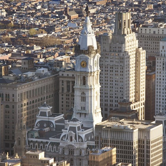 I-95 runs through historic Colonial cities, including Philadelphia.