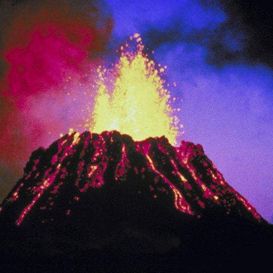 The Volcanic Islands In Hawaii USA Today - Landforms in hawaii