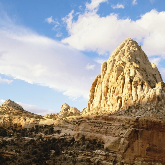 Torrey is the closest town to Capitol Reef National Park.