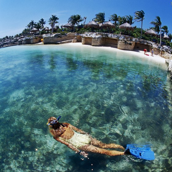 Mexico's extensive coastline offers many opportunities for snorkeling.