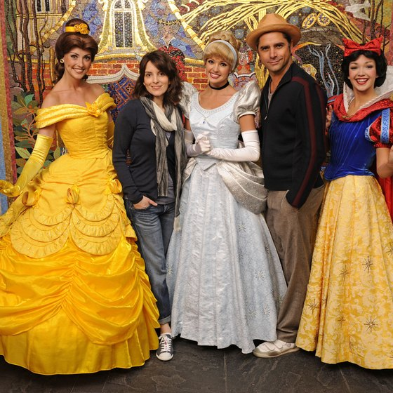 Belle, Cinderella and Snow White greeted actors Tina Fey and John Stamos, but they could greet your child at a Disney restaurant, too.