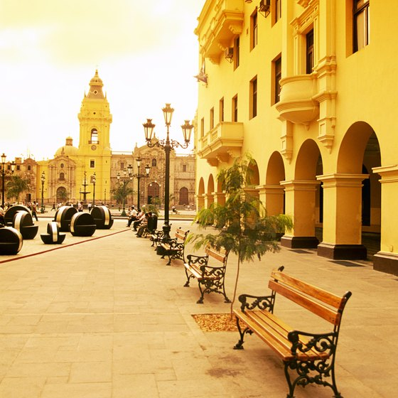 Plaza de Armas in Lima, Peru, gives visitors a taste of the country's culture.