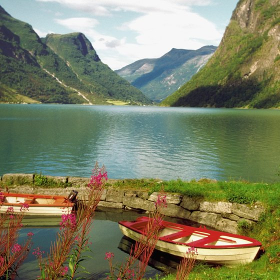 Nordfjord in Sogn og Fjordane county is the sixth longest fjord in Norway.