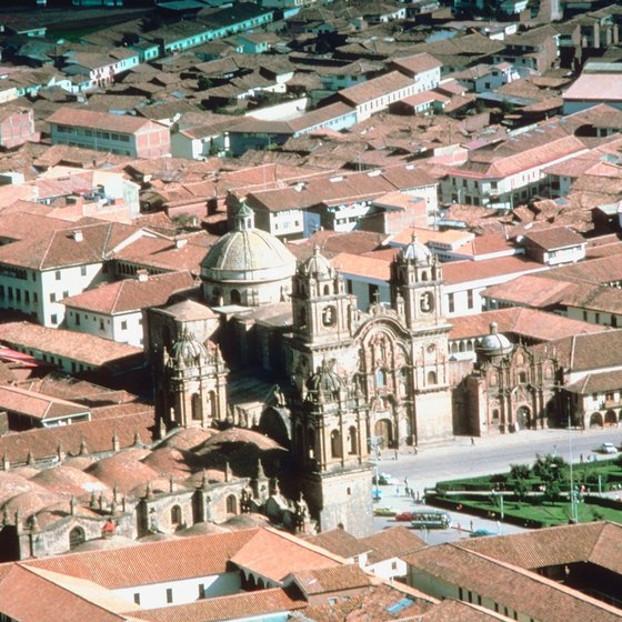 The Incas designed the capital city of Cuzco in the shape of a puma.