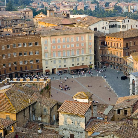 In Tuscany, you can explore the city of Siena, home to the Piazza del Campo.