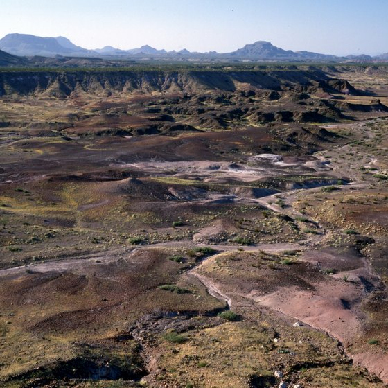 Texas' badlands are the one of the country's most sparsely populated areas.
