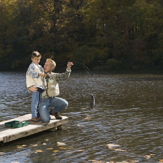 Fishing is a fun activity for individuals, families or groups.