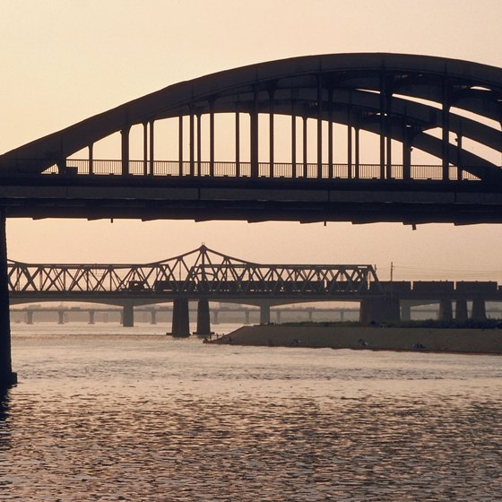 The Han River is the center point of South Korea's capital, Seoul.