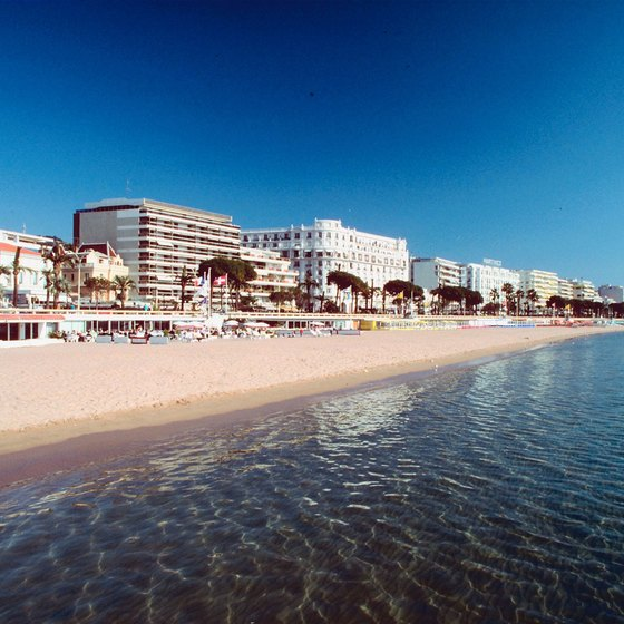 Cannes has numerous attractions for tourists who enjoy living the high life.