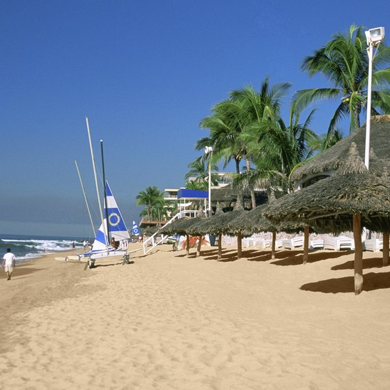 Cruise lines stop in Mazatlan for the sandy beaches and warm temps.