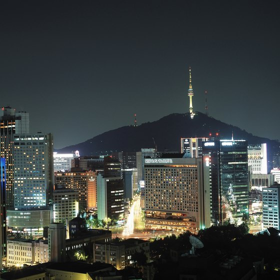 Avoid traveling around Seoul alone at night.