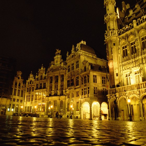 Enjoy Brussels' unique architecture after arriving to the city by train.