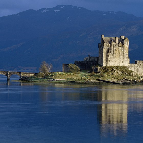 You'll need a car to reach many rural Scottish castles and houses.