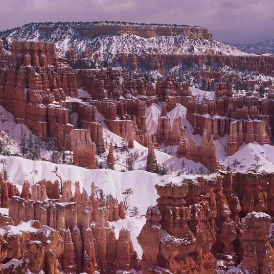Duck Creek is 15 miles due west of Bryce Canyon National Park.