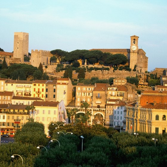 Cannes is Antibes's famous neighbor on the French Riviera.