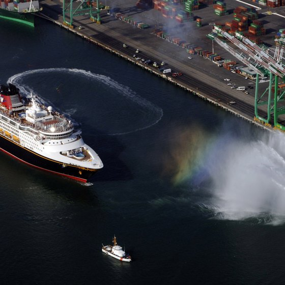 Most West Coast Disney cruises sail from the port of Los Angeles.
