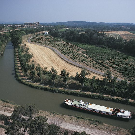 A cruise along the Canal du Midi takes travelers through southern France.
