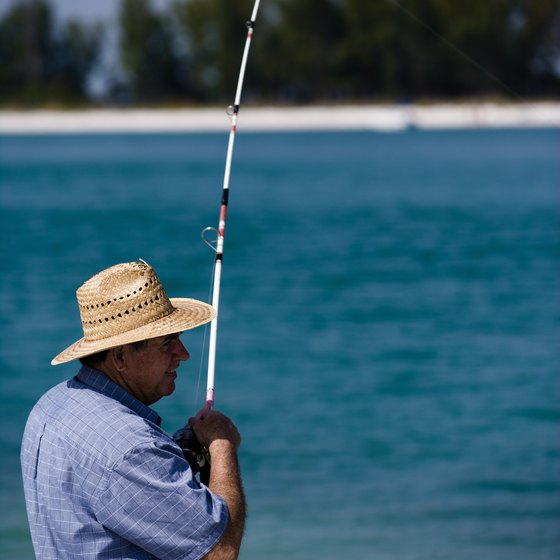 Spend a sunny day fishing in Pasco County, Florida.