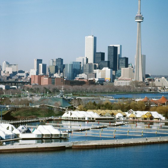 Toronto's shoreline is one of the largest in North America.
