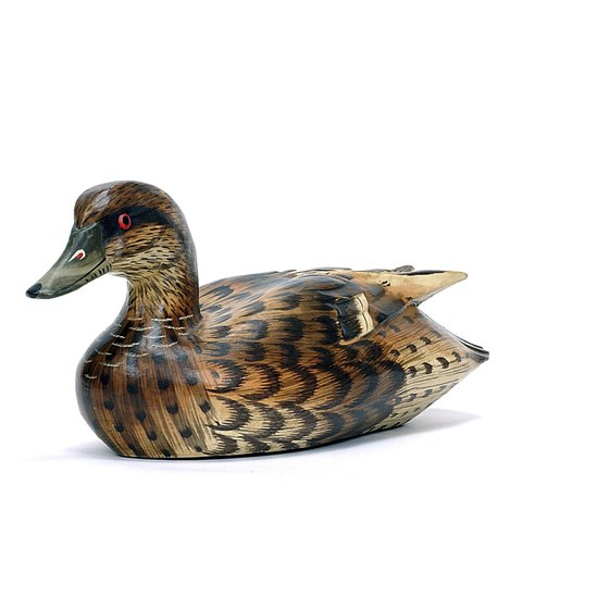 Duck decoys are among the attractions at the annual Waterfowl Festival in Easton, Maryland.