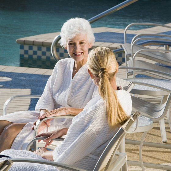 Popular mother-daughter spa packages cater to girls of every generation.