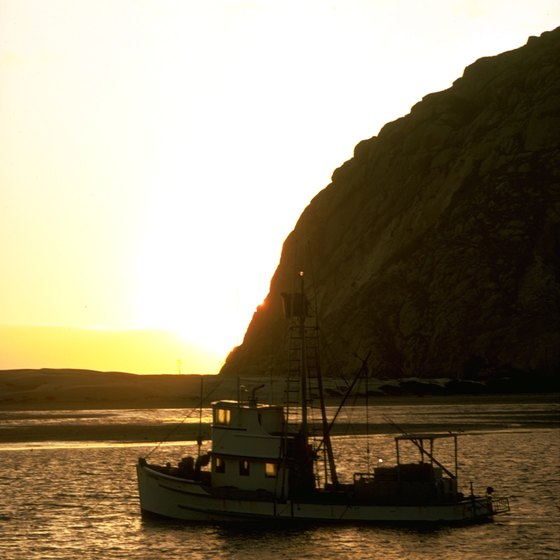 Watch the sunrise on a halibut charter boat.