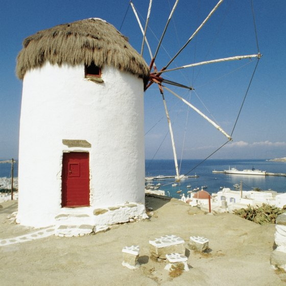 Mykonos has many picturesque beaches.
