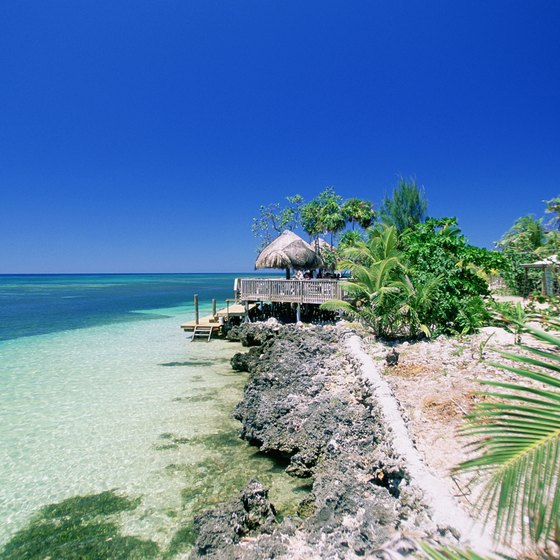 Honduras is known for its turquoise water and tropical vegetation.
