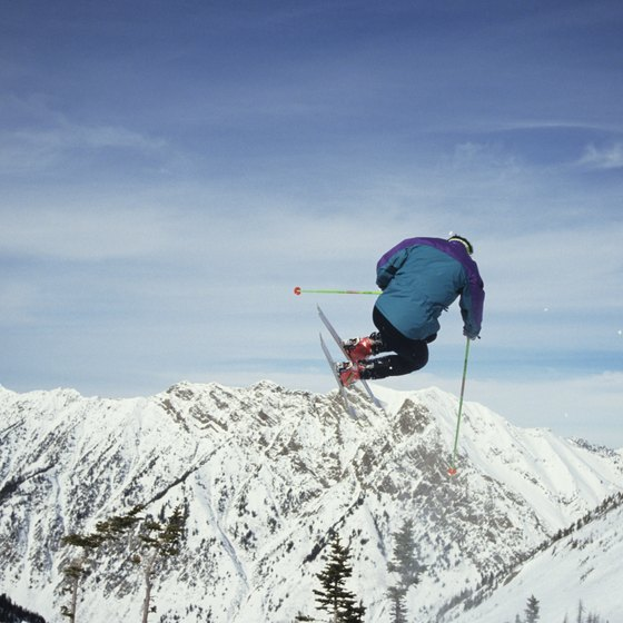 Skiing at Snowbird is one of many reasons to stay in Sandy.