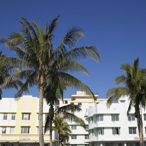 South Beach is a major tourist destination in Miami Beach.