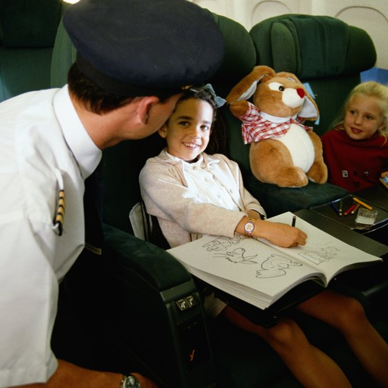 Airlines set their own requirements for unaccompanied minors.