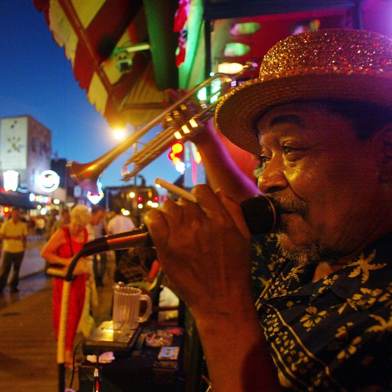 Beale Street is the spot for blues and barbecue.