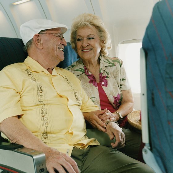 Senior citizens are afforded many rights to ease travel.