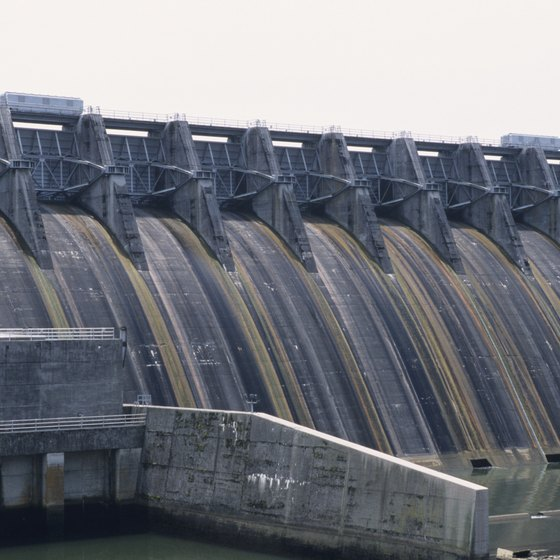 The region around the Cherokee Dam is known for its natural beauty.