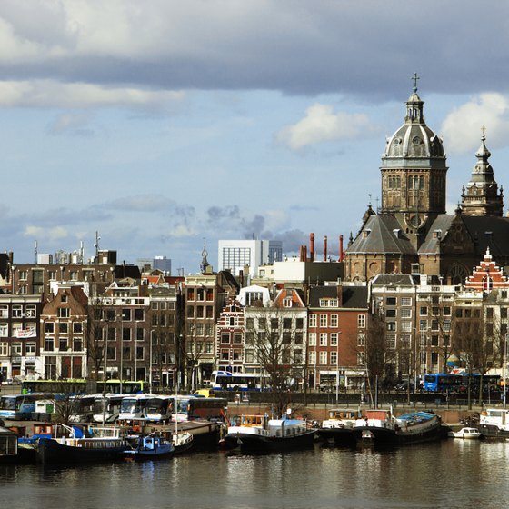 Amsterdam is a year-round destination.