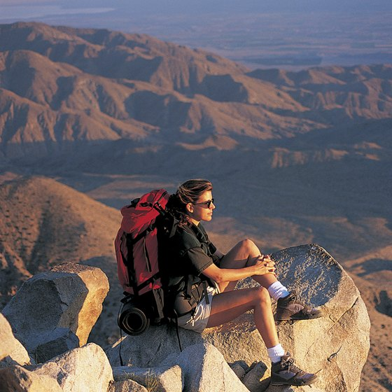 Some of Southern California's most arid landscape underlies Mount San Gorgonio.