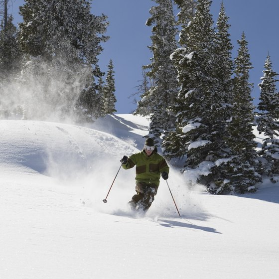 Area accomodations allow guests to access Blue Mountain and its ski trails within minutes.