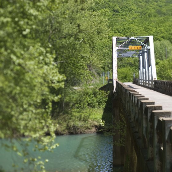 Harrison, Arkansas, is nestled high in the scenic Ozark Mountains.