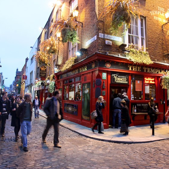 The Temple Bar in Dublin won Irish Music Pub of the year in 2002 and 2010.