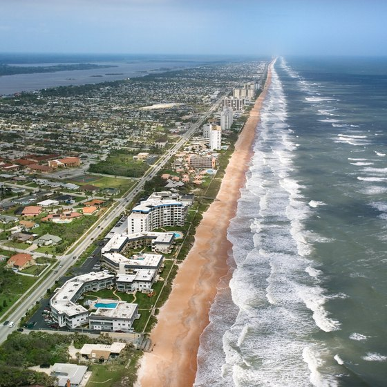 A destination resort of itself, Ormond Beach is also a popular stop on the drive to south Florida.