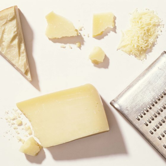 Italian hard cheeses are allowed on the airplane and through U.S. customs.