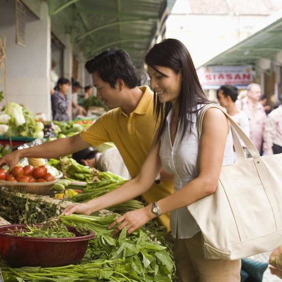 Local markets are a highlight of traveling in Cambodia and Vietnam.