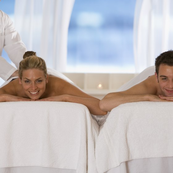 Unwind with side-by-side massages.