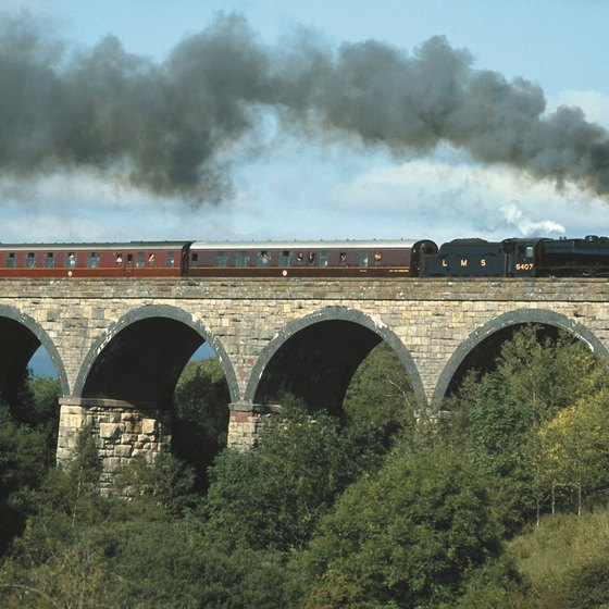 Train travel remains an integral part of England's heritage.
