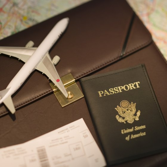 Passports and boarding passes are among the documents you'll need for international travel.